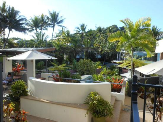 Peninsula Boutique Hotel: View from top Spa