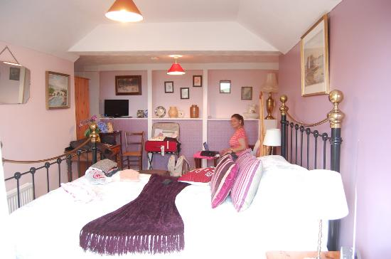 Lewis's Bed and Breakfast: the girls' room