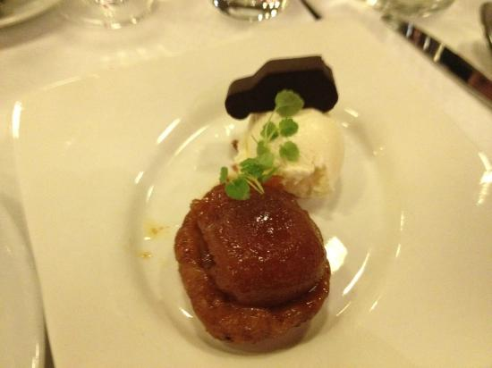 Restaurant Le Garage: Tarte Tartaine