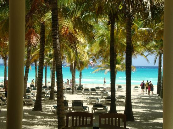 Hotel Riu Lupita: una buena vista desde la playa