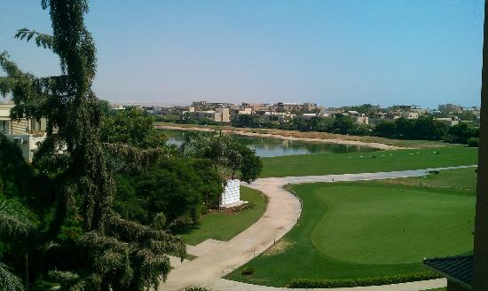 Stella Di Mare Golf Hotel, Ain Sukhna: The view from the room balcony