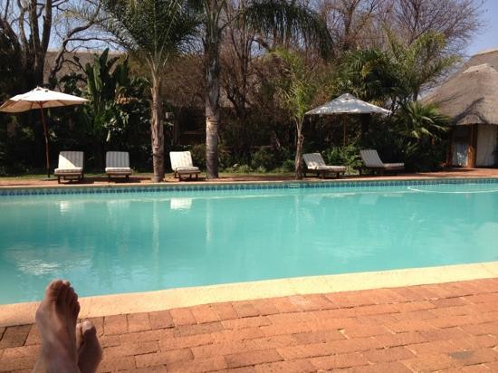Leriba Hotel and Spa: The peaceful pool