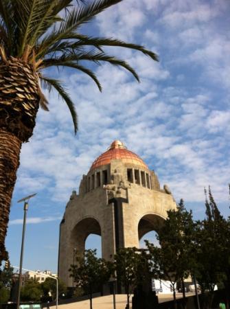 Hotel Casa Blanca Mexico City: monumento alla rivoluzione