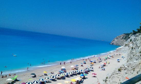 Playa Egremni: Egremni sea