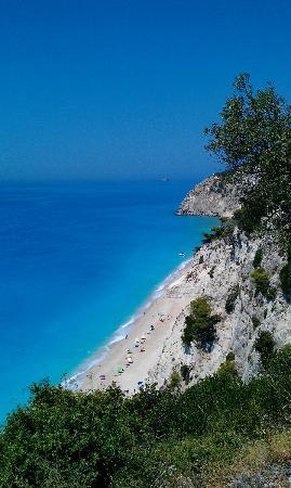Playa Egremni: Egremni Beach dall'alto
