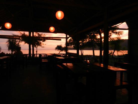 Sunset at Breeze Cafe