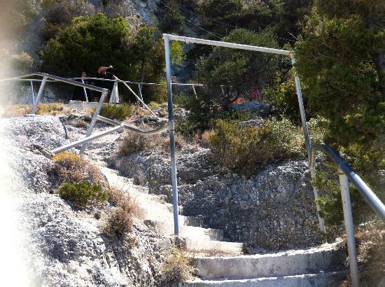 Strand von Egremni: Egremni 350 scalini