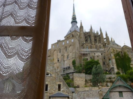 Auberge Saint-Pierre: vista dalla stanza