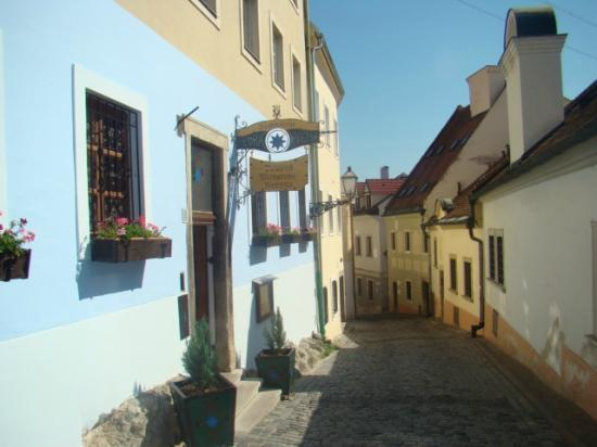 Restaurant Modrá Hviezda (the Blue Star)