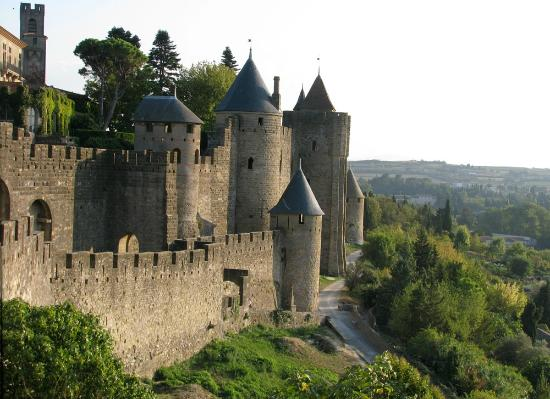 Au Royal Hotel : Medieval city of Carcassonne