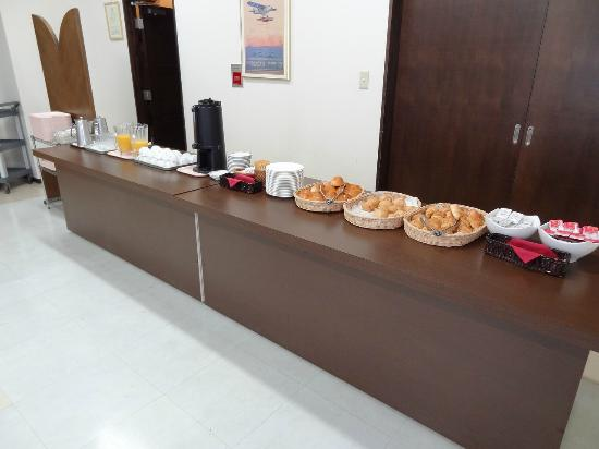 Sapporo Yayoi: 朝食は簡素です