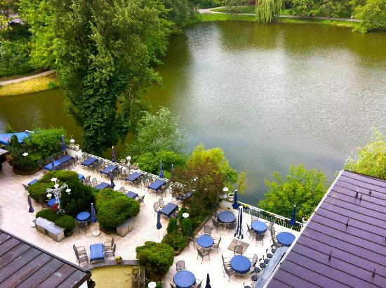 Seehof Hotel: view from the room - Lietzensee