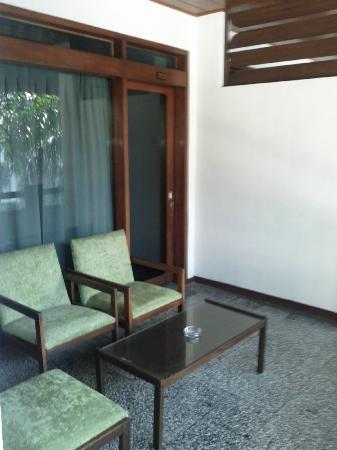 Le Beringin Hotel: in front of room