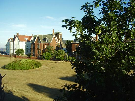St Annes Hotel: view over Norfolk Square at the back