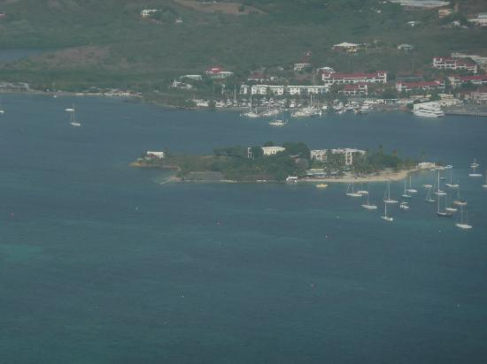 Aerial View of Protestant Cay, Christiansted Virgin Islands