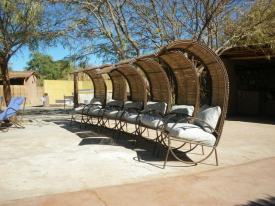Altiplanico Atacama: Stylish pool chairs