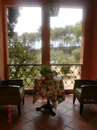 Hotel Cortijo la Reina: vistas al monte