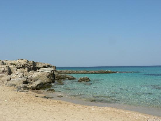 Falassarna Beach: peaceful water