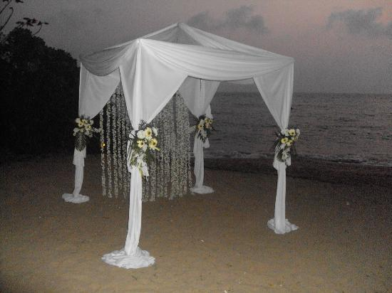 Cola Beach Exclusive Tented Resort: Weddings at cola