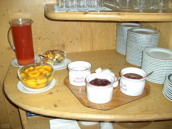 Garni Bellavista: Frühstück