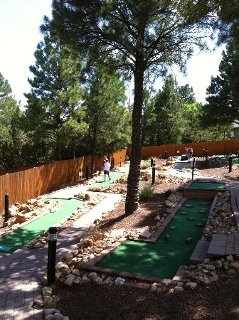 Wyndham Flagstaff Resort: Mini golf