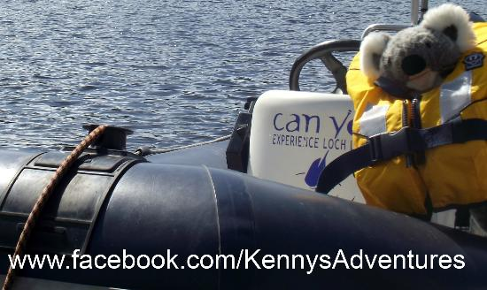 Can You Experience Loch Lomond: They even took care of Kenny :)
