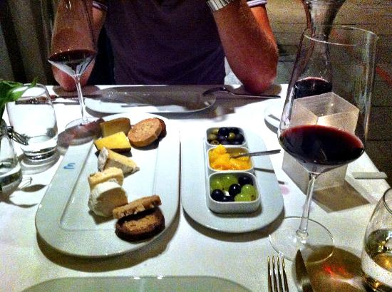 Brasserie Marblau: Selection of cheeses