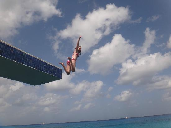 Nah Ha Condominiums: Jumping Into Ocean At Condo