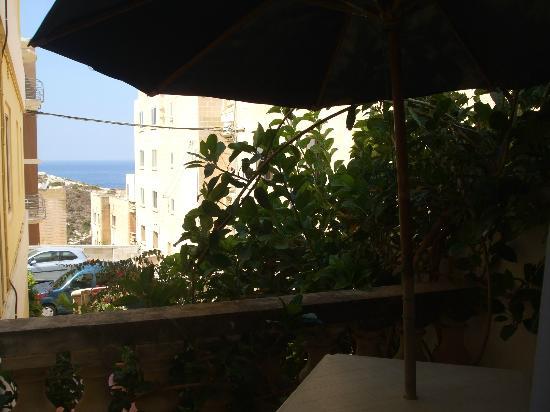 Villa Bronja: Vista mare dal balcone