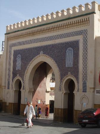 Hotel Batha : Entrance to the old medina