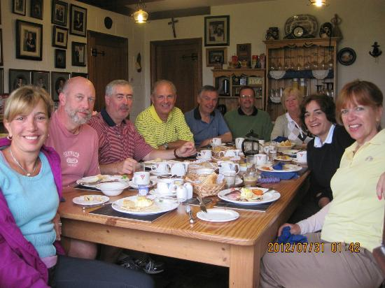 Breakfast at Drom Caoin - Mairin's the photographer, of course!