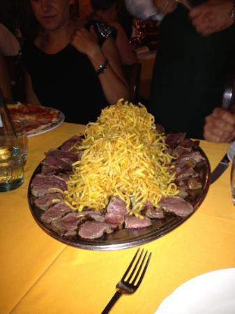 L'Uccellina : Fiorentina con patate.