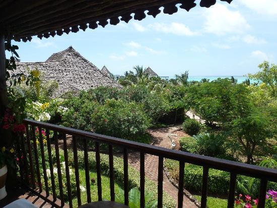 The Zanzibari : Vue de notre chambre...