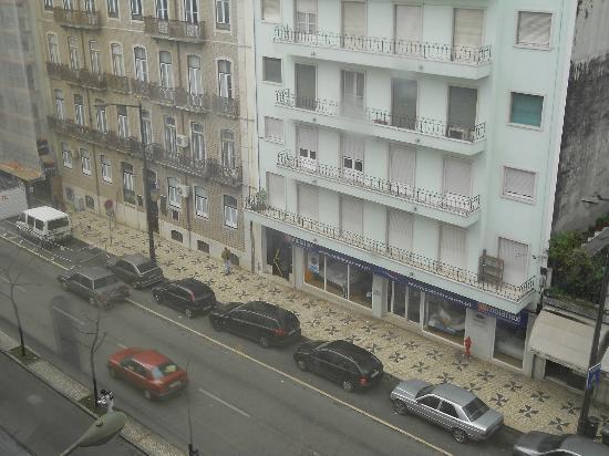 Masa Hotel Almirante: Vista sull'Avenida Almirante Reis