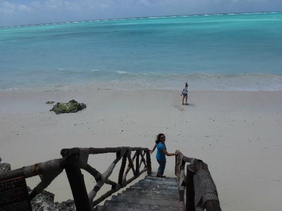 The Zanzibari: La plage...