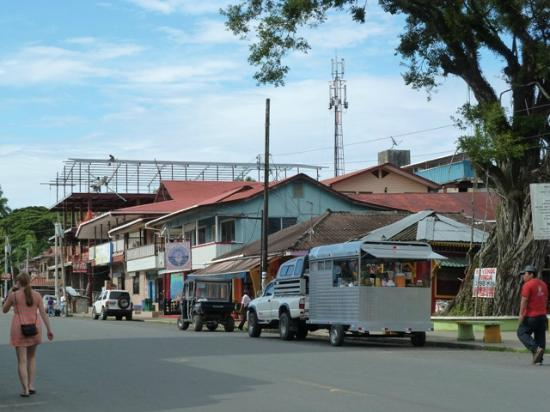 Hotel Palma Royale: The main street in Bocas