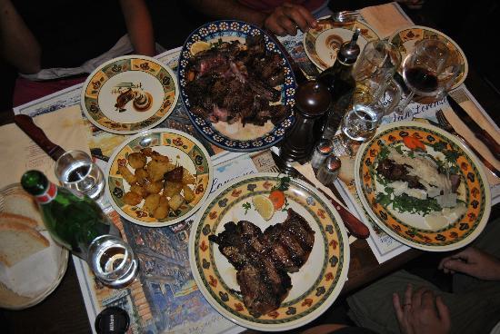 Trattoria San Lorenzo: nostra cena