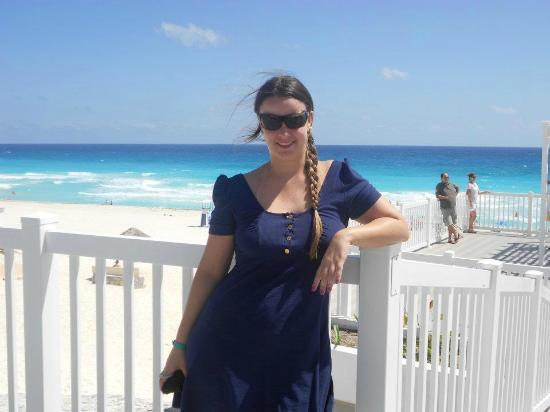 Playa Delfines: linda