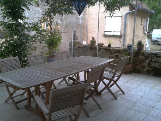 La Maison de Violette: terrasse Maison de Violette