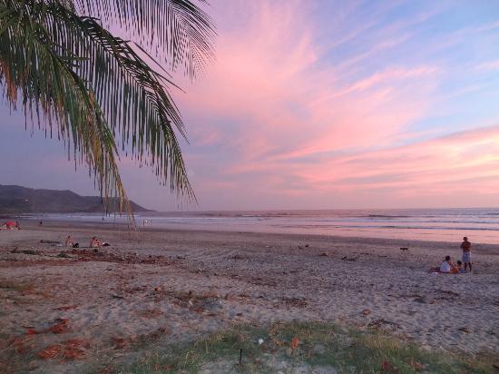 Casas de Soleil: the beach