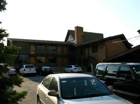 Rodeway Inn Lyons: les chambres sont sur deux niveaux