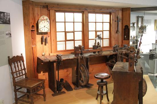 Deutsches Uhrenmuseum: Uhrmacherwerkstatt