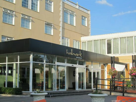 Hallmark Hotel Manchester: Entrance to hotel 