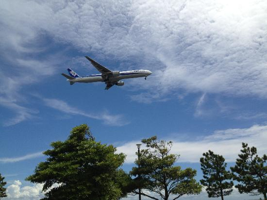 Ota, Japan: 飛行機