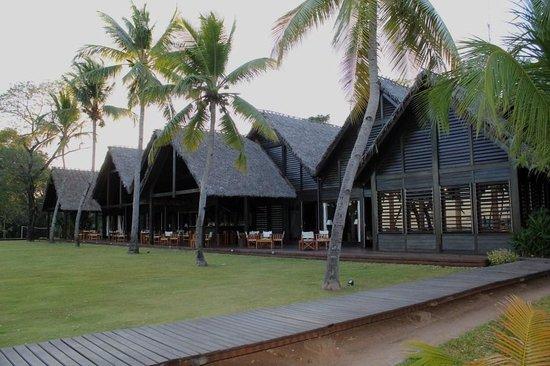 Anjajavy L'Hotel: Main Building - Restaurant