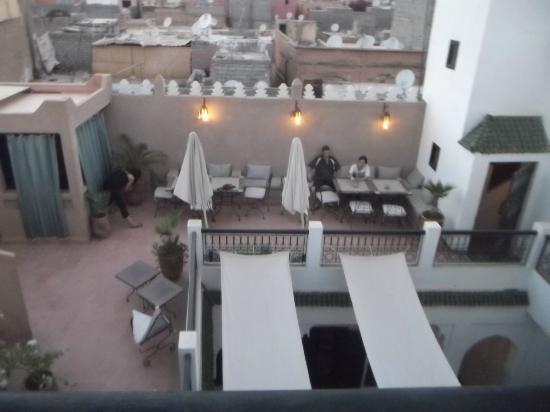 Riad Baba Ali: la terrase