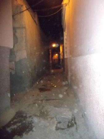 Riad Baba Ali: rue pour accéder au riad