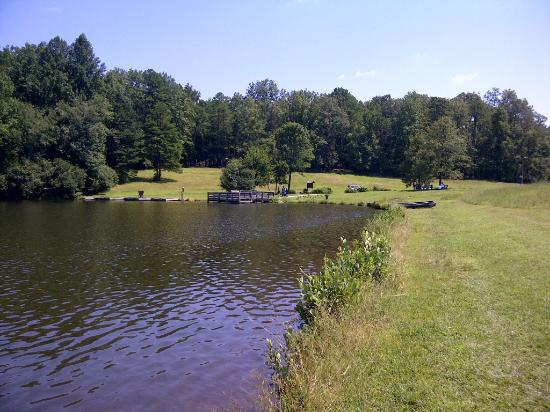 Andrew Jackson State Park: Pond