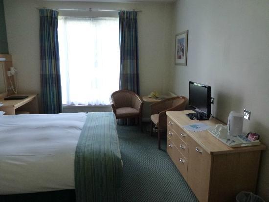 Merton Hotel: unser Zimmer im Merton
