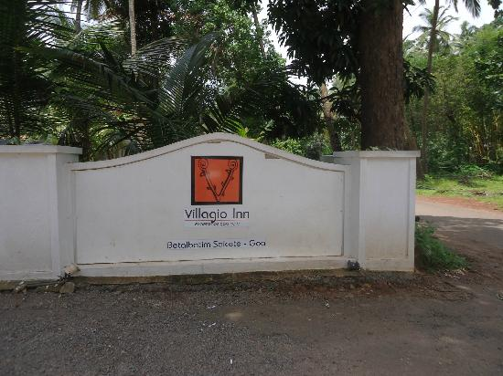 Goa - Villagio, A Sterling Holidays Resort: at the entrance